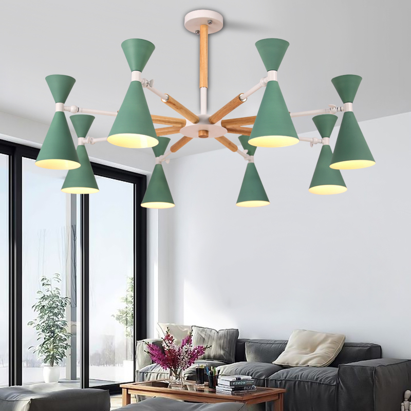 Modern LED Chandeliers Lights For Dining Living Room SuspensionModern LED Chandeliers Lights For Dining Living Room Suspension