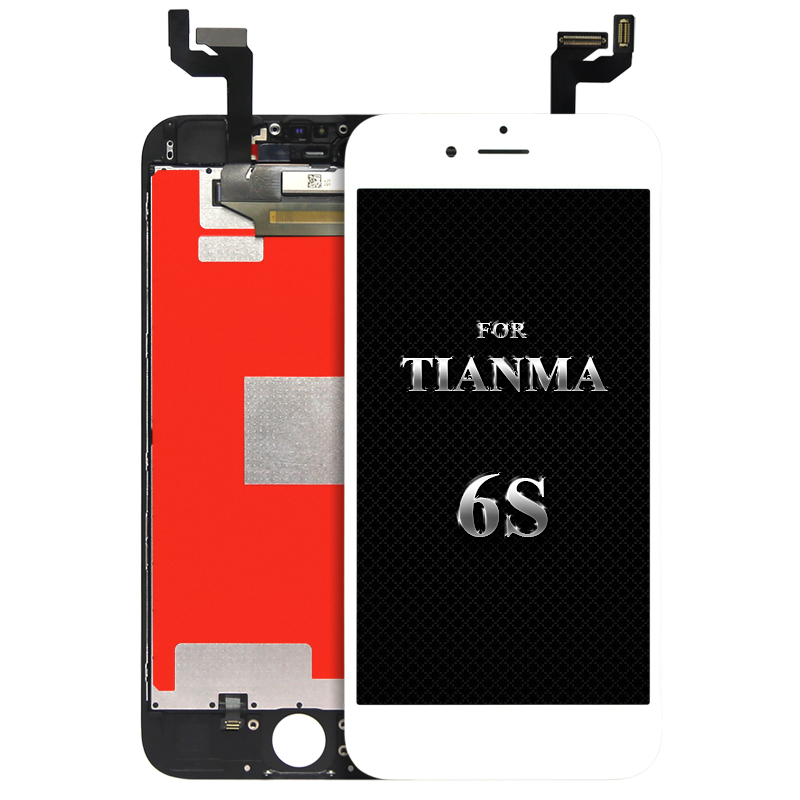 100 Test Tianma Quality For iphone 6s Lcd Display With Warranty mobile phone LCD Camera Holder