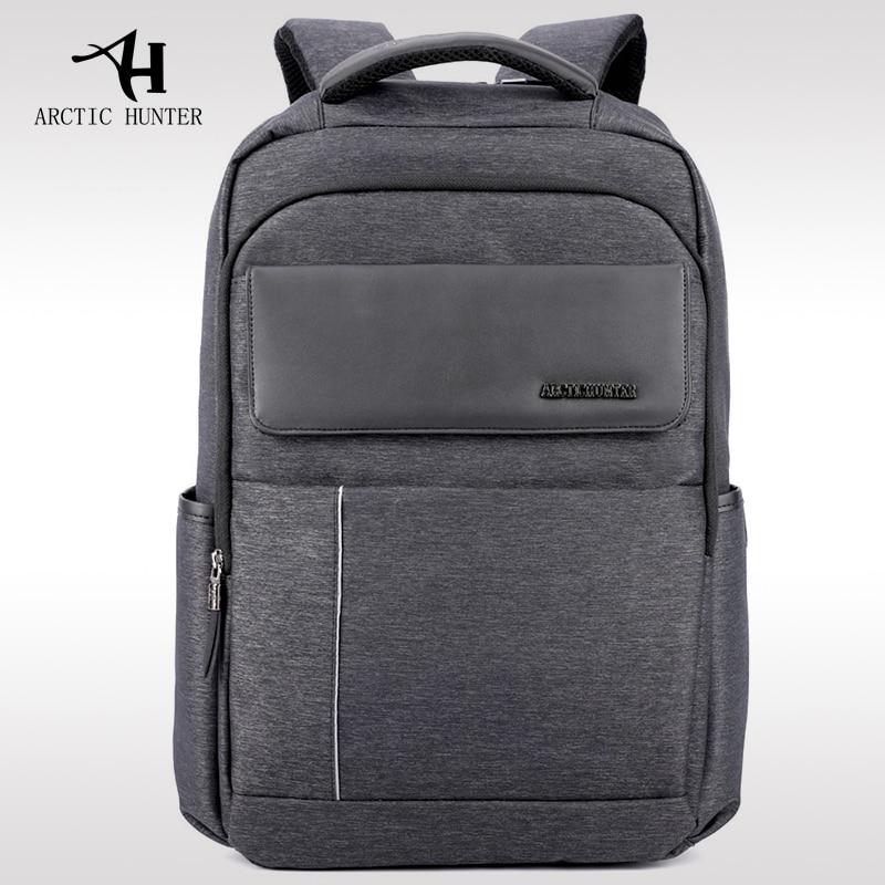 ARCTIC HUNTER 2017 New Oxford Cloth Computer Bags Men's Backpack Shoulder Bag College Simple Design Men Casual Daypacks Fashion
