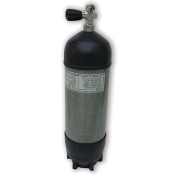 AC109591 Scuba Pcp Rifle 9L diving cylinder CE 30Mpa/4500Psi Air Tank High Pressure Cylinder For Compressor Diving ac10910191 9l scuba diving tank ce 4500psi 30mpa airsoft air guns compressed air cylinder pcp protective case valve air rifle