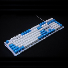 [HFSECURITY] Universal 104 PBT Double Color Transparent Backlight for Corsair K70 Mechanical Keyboard OEM 104 PBT Keycaps