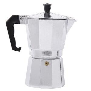 Image 2 - 50/150/300/450/600ML alüminyum Percolator kahve makinesi Pot açık sofra ev ofis üreticisi açık sofra