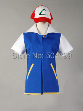Ash Ketchum Pokemon Jacket Original Series Adult sizes QXEP3