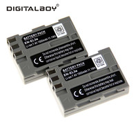 DigitalBoy 2PCS Rechargeable Battery EN EL3e ENEL3e EN EL3e Camera Battery For Nikon D300S D300 D100