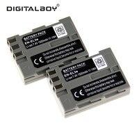 DigitalBoy 2 PZ Batteria Ricaricabile En-El3e ENEL3e EN EL3e Batteria Della Fotocamera per Nikon D300S D300 D100 D200 D700 D70S D80 D90 D50