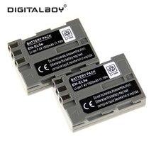 DigitalBoy 2 PCS ENEL3e EN-EL3e EN EL3e Bateria Recarregável Da Bateria Da Câmera para nikon d300s d300 d100 d200 d700 d70s d80 d90 D50