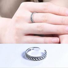 Женское кольцо из тайского серебра 925 пробы с геометрическим