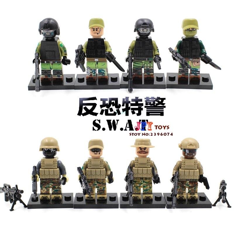 80pcs star wars superhero Russian Marine Army Anti Soldier building blocks friends house games kids children toys iluminador