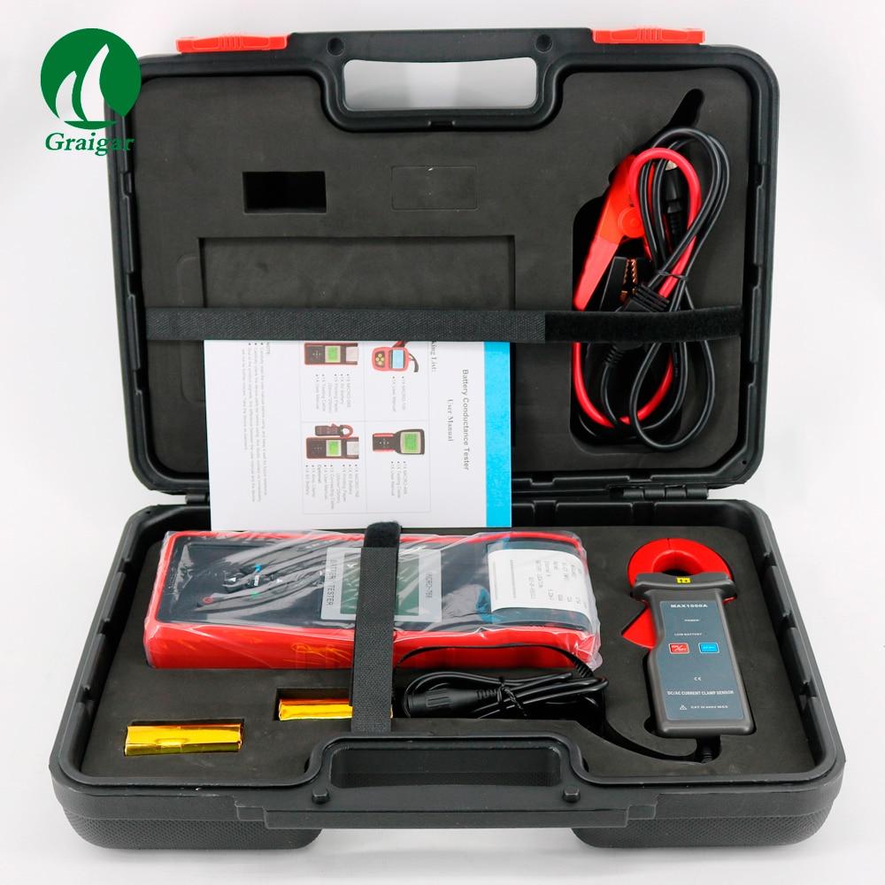 Systèmes de charge de véhicule d'essai et d'analyse de MICRO-768A d'appareil de contrôle automatique de batterie de voiture numérique