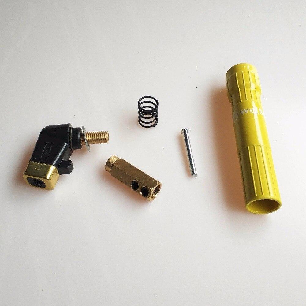 Закручивающийся держатель электрода 1,6 мм до 6,4 мм зажим электрода 400A кованый медный зуб EN 60974-11 CE сварочный зажим
