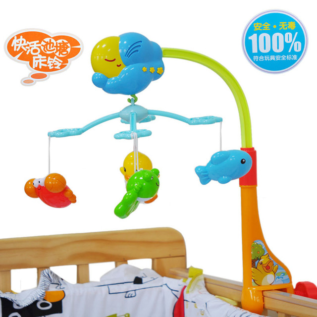 Obbe toys music bed bell bed bell music rotating bedside bell baby toy 1.0