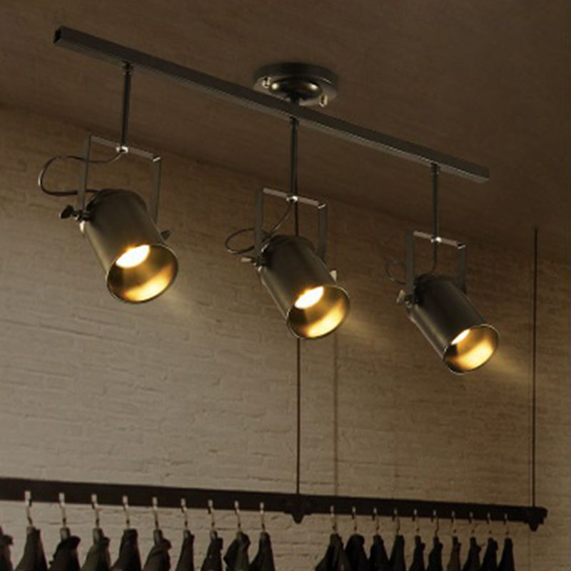 Lukloy Retro Track Lamp Light Fixture