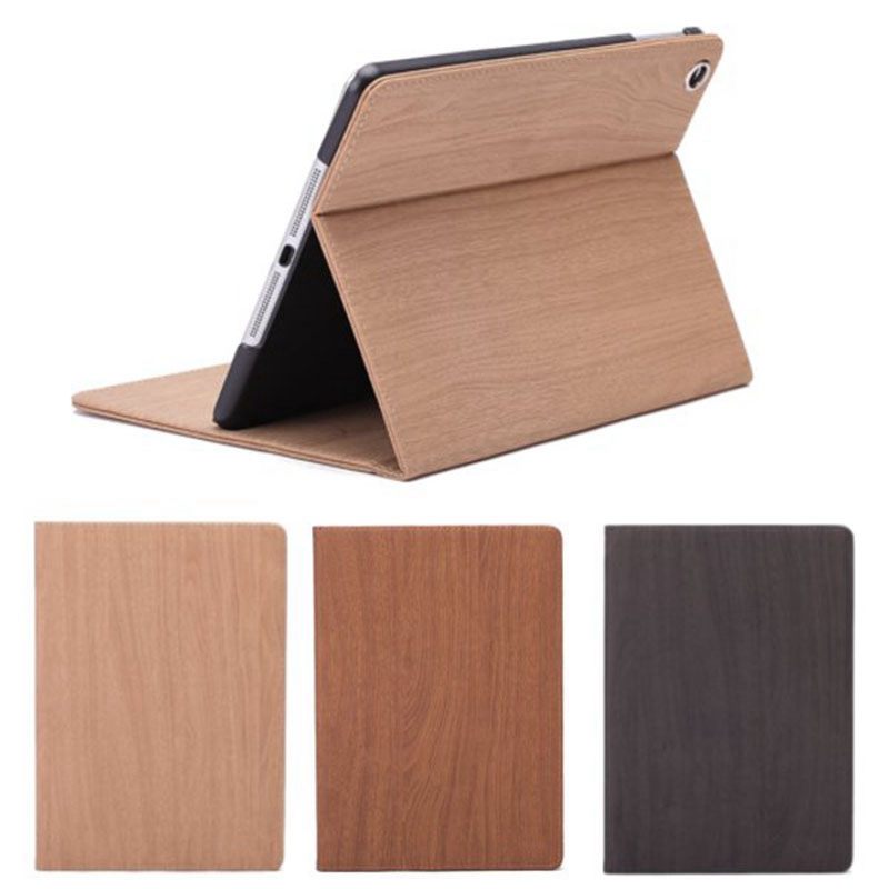 Wood Grain For iPad Mini 2 3 Case Shockproof Cover Foldable Stand For iPad Mini Cover For Kids 9.7inch Sleep/Wake up Case for ipad mini