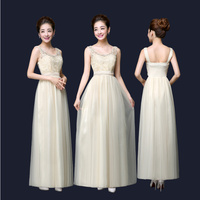 Homecoming Young Lady Formal Occasion Dresses Tiffany Blue Pink Champagne Dress Long Evening Gown For Wedding
