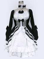 Cosplay animation vêtements en gros lolita culture-lolita dress chargé 12 generation-h24