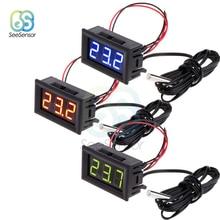 купить 12V LED Digital Thermometer for Freezer Temperature Meter Detector Sensor Probe Temperature -50~110 Degree дешево