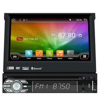 Android 6 0 Car Radio Stereo 1 Din Head Unit Dvd GPS Sat Navigation Support DAB