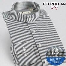 Новинка 2017 года Для мужчин Бизнес Рубашки для мальчиков Для мужчин Рубашки для мальчиков модные Для мужчин повседневная хлопковая Футболка Camisa De Hombre