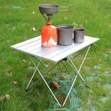 Mesa portátil plegable para acampar y hacer senderismo al aire libre