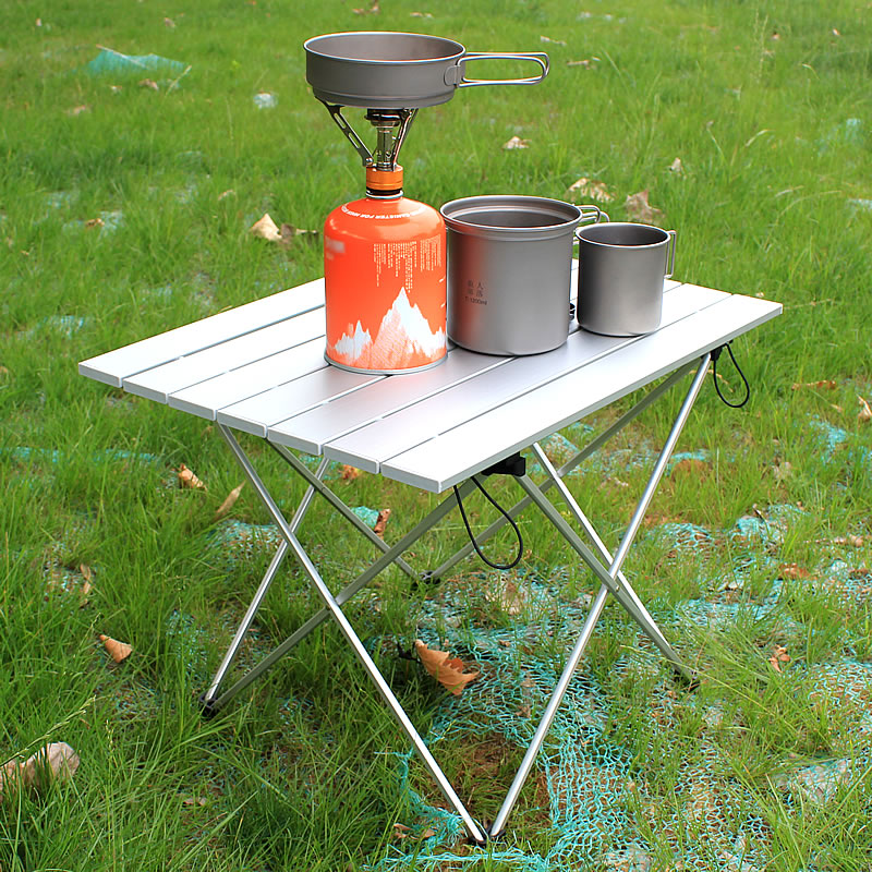 Portable Table Foldable Folding Camping Hiking Outdoor