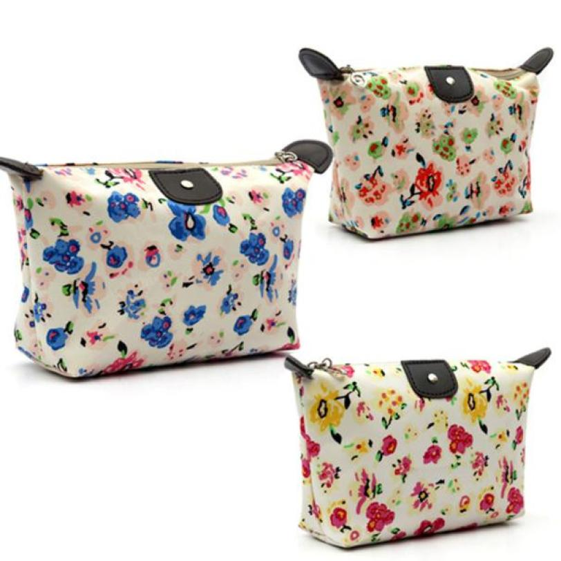 Hot Novelty 1PC Fashion Women Travel Make Up Cosmetic Pouch Bag Clutch Handbag Casual Purse trousse maquillage femme
