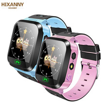 купить Q02 Children Smart Watch Camera Lighting Touch Screen SOS Call LBS Tracking Location Finder Kids Baby Smart Watch PK Q50 Q90 по цене 658.64 рублей