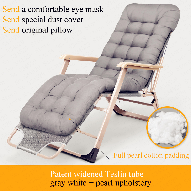 Portable Folding Nap Lounge Chair Tumbona Jardin Couch Tumbona Jardin Multi Function Furniture Folding Office Daybed Recliner