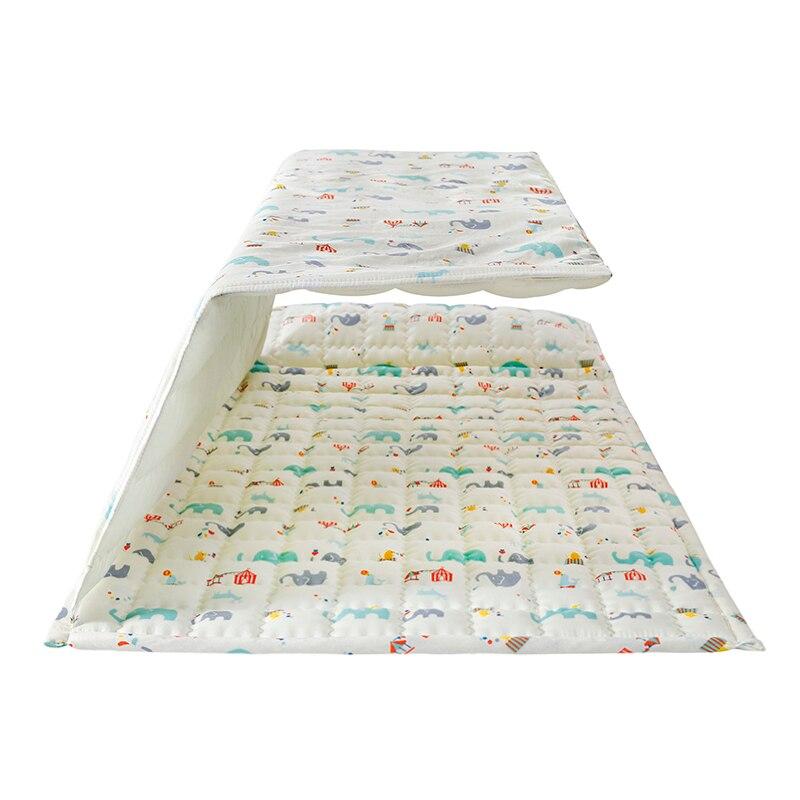 Мультфильм белый слон Стёганые одеяла детей спальный мешок дети комплект постельного белья детский спальный мешок портативный ребенка дет