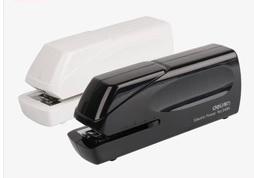 Nova fonte de alimentação Dupla de escritório ou na escola Escritório estacionário grampeador vinculativo máquina elétrica automática Encadernação Suprimentos deli0489