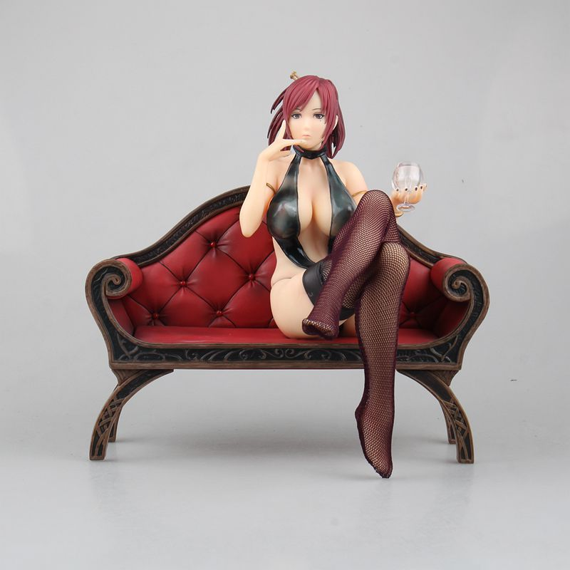 Huong Anime Figure 19CM Mamiya Marie Saint Tail Decadence Beauty PVC Figures Toys Dolls Model Collectible aussie 236ml