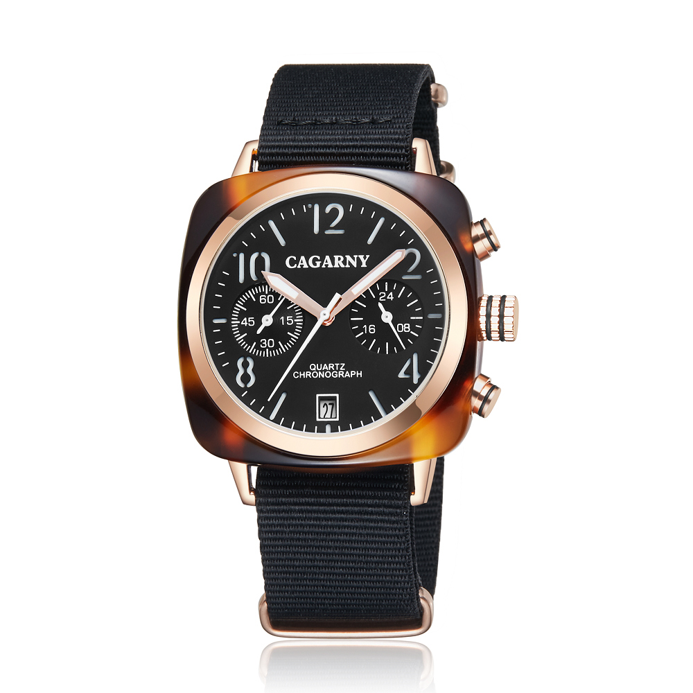 2019 Classic Chronograph Quartz Watches androgynous Fashion Watch His or Hers Wristwatch for Men Women Lovers Wedding Romantic Gift  (16)