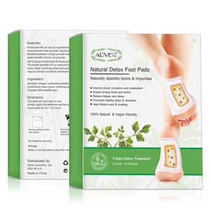 Image 2 - ALIVER 20pcs עבור 5 ימים גמילה רגל תיקוני רפידות גוף רעלים רגליים הרזיה צמחים טיהור דבק