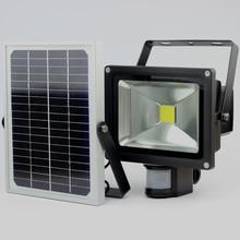 Adjustable PIR 20W Solar Light ,Solar Super Bright PIR Infrared Motion Security Garden flood Wall Light цена