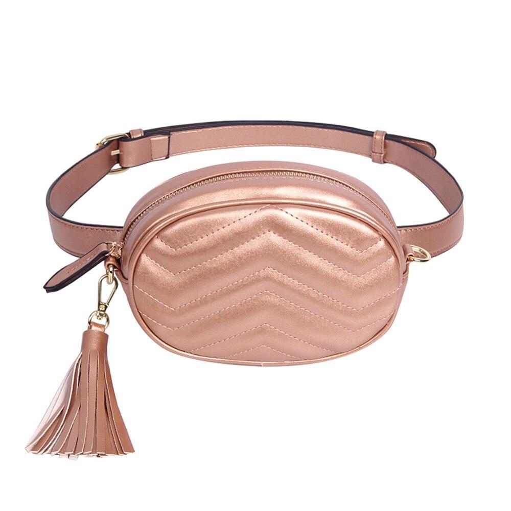 bf13b0213309 Брендовые женские Поясные Сумки из искусственной кожи, поясные сумки, женские  сумки с кисточками, поясная сумка, Женский дорожный кошелек д.