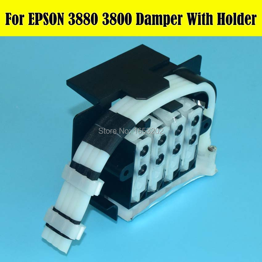 Free Cost!! Damper For EPSON Stly Pro 3800 3880 B310 B510 B318 B518 B300 B500 Printer Ink Damper original ink damper for epson b6000 b6080 f6000 f6080 f6280 f6070 f6270 b6070 f6200 printer dumper duct assy cr asp