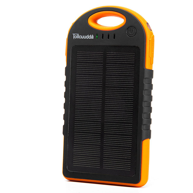 12000mAH Big Solar Panel Phone Powerbank Mobile Battery Charger Power Bank Portable Usb Led Poverbank  For Xiaomi Iphone Cell