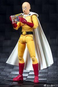 Image 2 - Grands jouets Dasin jouet animé ONE PUNCH MAN Saitama figurine daction GT, en stock, modèle 1/12