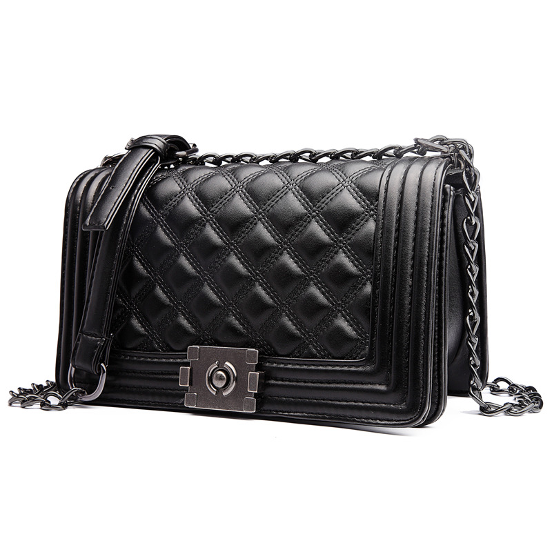 Diamond Lattice Women Bag Designer Handbags High Quality Lady Quilted Plaid Shoulder Crossbody Bags Leather Messenger In From
