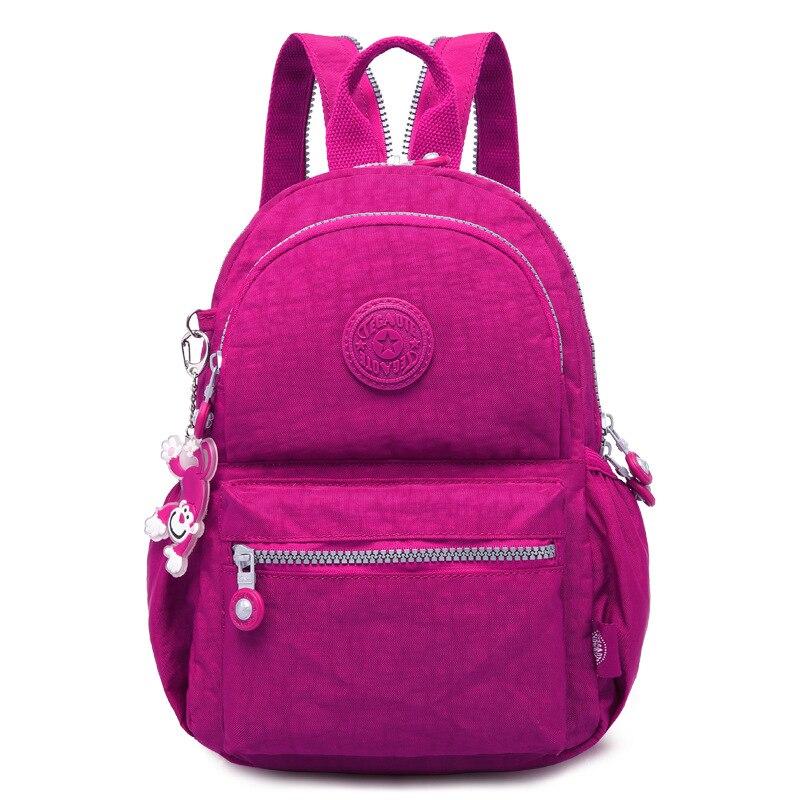 TEGAOTE 2017 Mini  Backpack for Teenage Girls Backpacks Newest Bolsas Mochila Feminina Escolar Casual Nylon Women Backpack women backpack solid schoolbags backpacks for teenage girls hot lona escolar mochila feminina backpack women mochilas mujer 2017