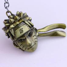 Naruto Keychain Fashion Uzumaki Face Figure Pendant Keychain (2 colors)