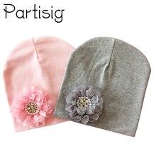Детская зимняя шапка, детская хлопковая шапка с цветочным рисунком для маленьких девочек, детская шапка с цветочным рисунком, Детские аксессуары