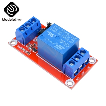 1 Channel Way DC 5V Board Protector Relay Module Board With Optocoupler High Support Low For Arduino Trip Level 1CH image