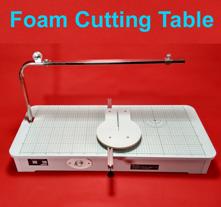 High Quality 220V Hot wire foam cutter Foam cutting machine table tool 80cmx33cmx12cm best price mgehr1212 2 slot cutter external grooving tool holder turning tool no insert hot sale brand new