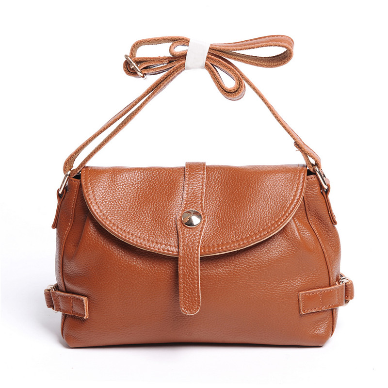 New Arrival Genuine Leather Women Bags Crossbody Bags High Quality 5 Colors Fashion Female Shoulder Bags Zipper Handbags HB10 new designer genuine leather women handbags high quality first layer leather bags for women fashion shoulder bags female ly163