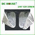 "DC HOUSE 240*120*200 cm 94""x47""x79"" Hydroponics Plants Grow Mini System Greenhouse Dark Room Garden Farm Hydroponic"
