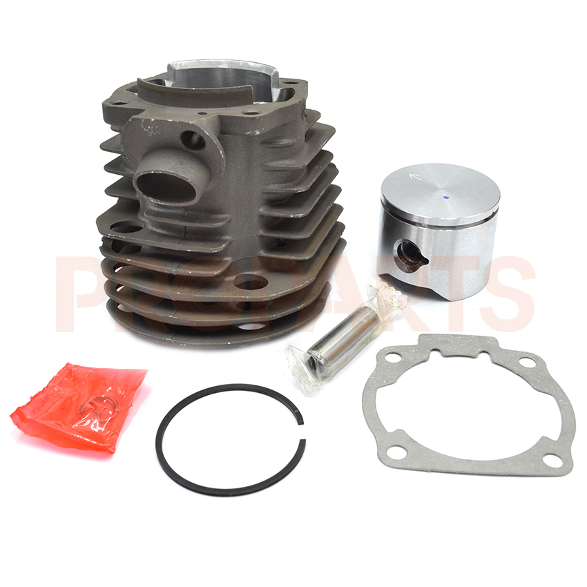 Brand 45mm Chainsaw Cylinder Piston Gasket Kit For Husqvarna 51 Spare Parts  45 2mm cylinder piston gasket assy chinese 5800 58cc chainsaw engine rebuilt kit