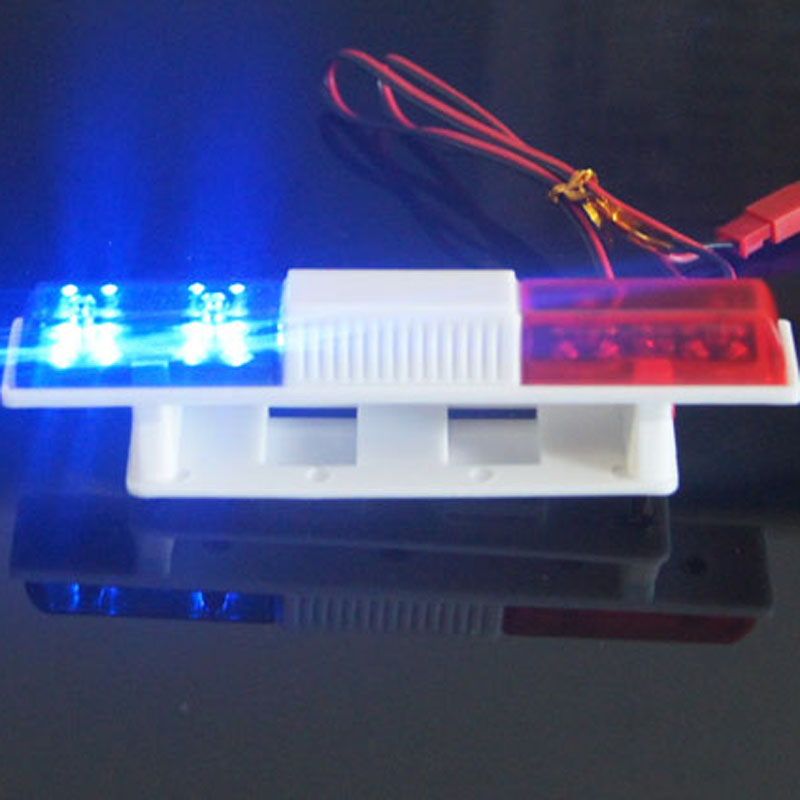 Model car police lights LED lights alarm lamp lights fire emergency lights flashing mode 360