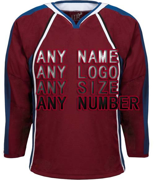Customized Any ICE Hockey Jerseys Any logo/Name/Number/Red/White Sewn On XXS-6XL Embroidery Wholesale From China Free Shipping customized any ice hockey jerseys any logo name number color size sewn on xxs 6xl embroidery wholesale from china free shipping