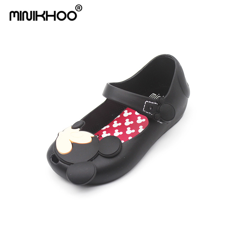 Mini Melissa Mickey Minnie Jelly Sandals Baby Sandals ChildrenS Shoes Soft Bottom Beach Shoes Melissa Shoes For Girls EUR 24-29