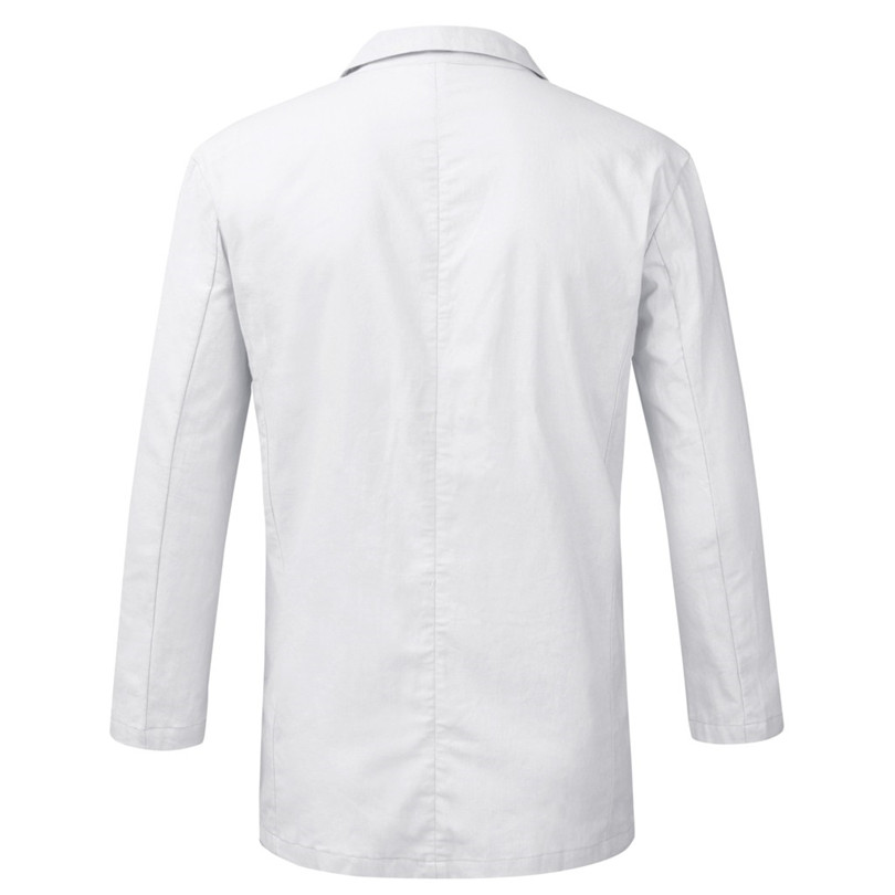 New 2019 Summer Men Slim Fit Linen Blend Casual Blazer Pocket Solid Long Sleeve Suits Blazer Jacket Outwear #E09 (30)